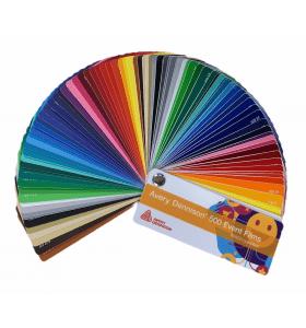 Avery 500 Matt farbfächer