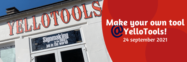 Make your own tool @ YelloTools! - 24. September