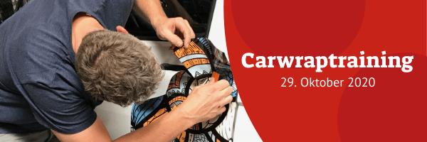 Carwrapschulung 29. Oktober 2020 (verschoben)