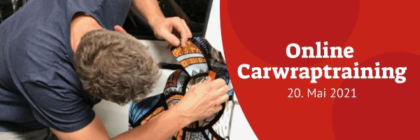 Online Carwrap-Training - 20. Mai